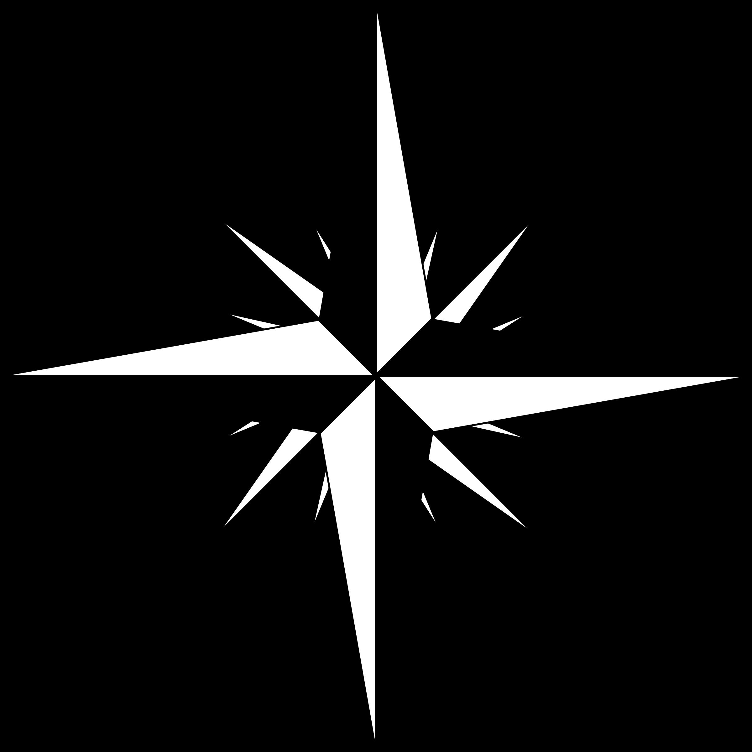 Compass Clipart Vector.