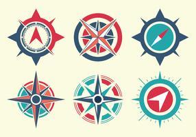 Compass Free Vector Art.
