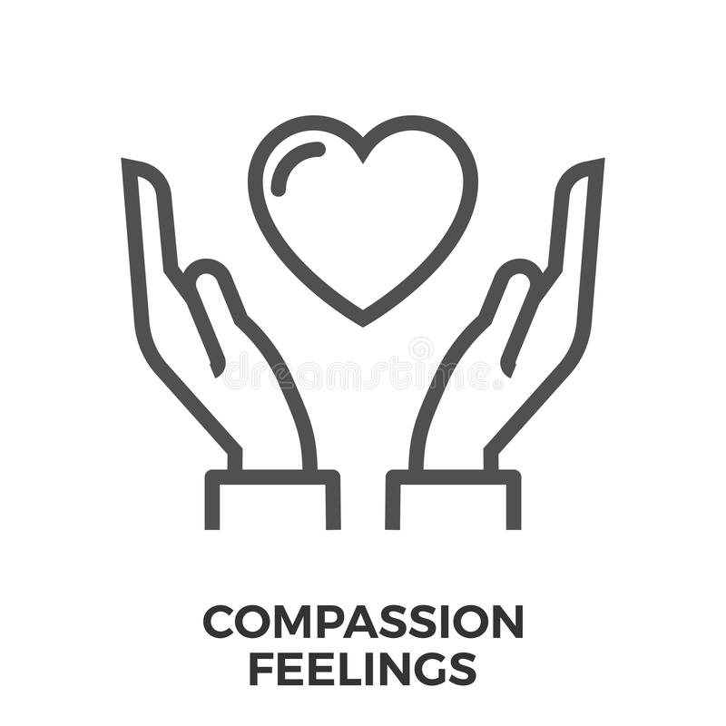 Compassion Stock Illustrations.
