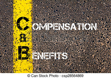 Business Acronym C&B as Compensation and Benefits.