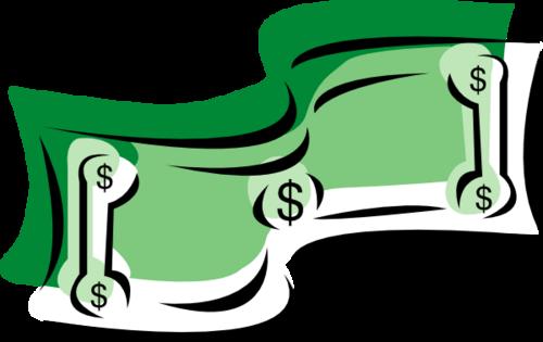 Free clip art salary.