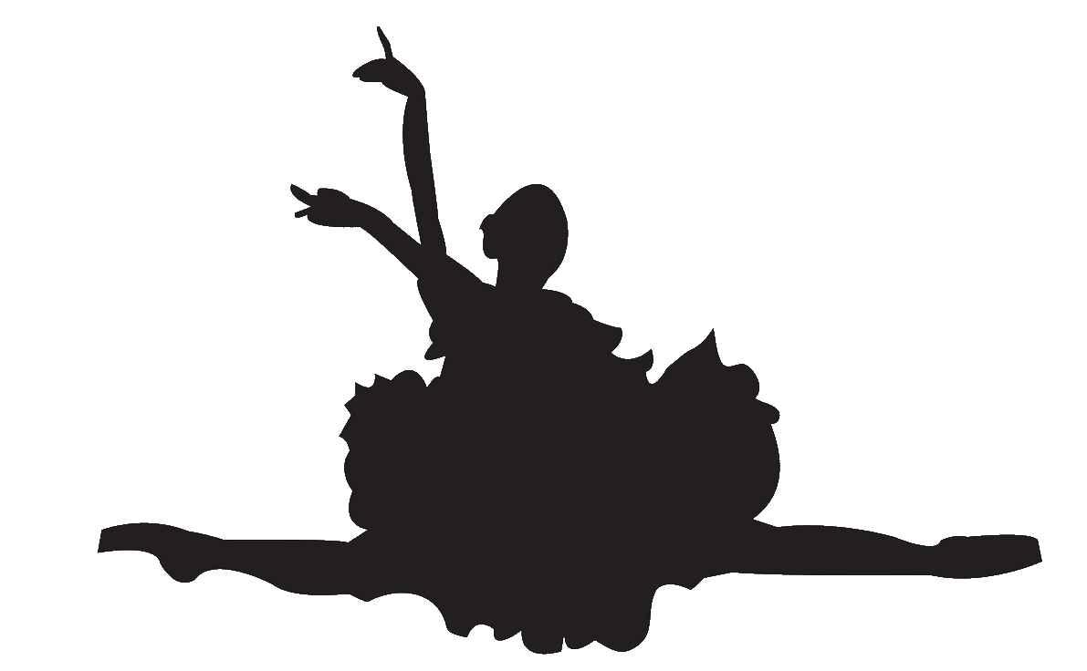 Silhouette Ballet Dancer.