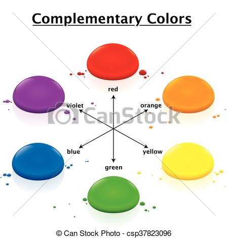 Complementary Colors Clipart Clipground