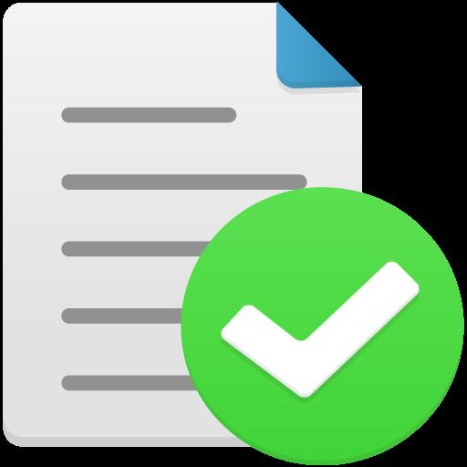 File complete Icon.
