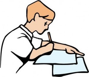 Completing work clipart.