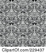 Royalty Free Stock Illustrations of Damask Patterns by BestVector.