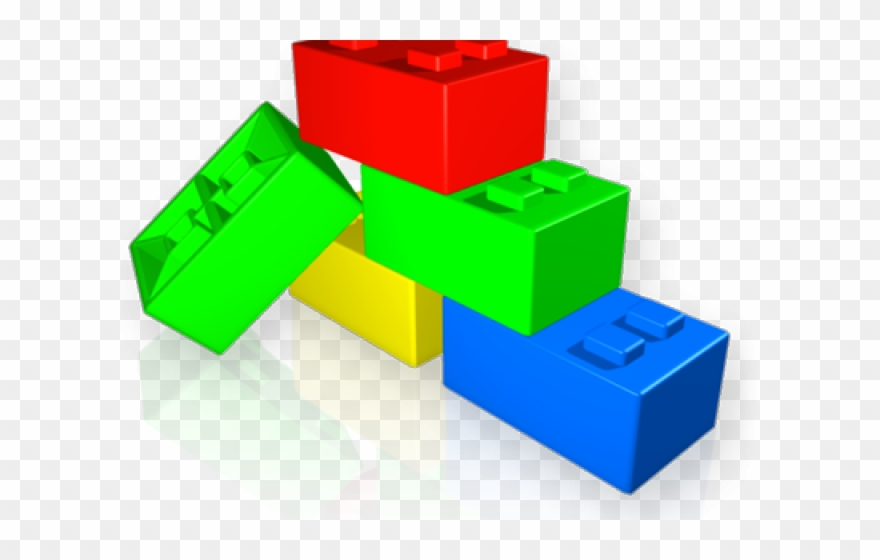 Lego Clipart Component.