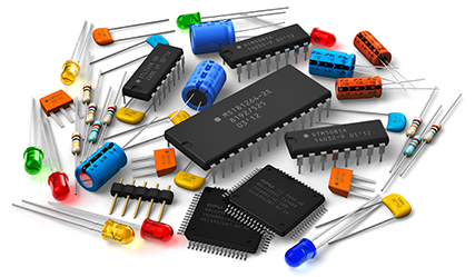 Active, Passive and Electromechanical Components.