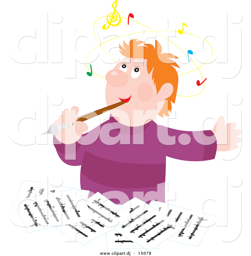 Royalty Free Composer Stock Designs.