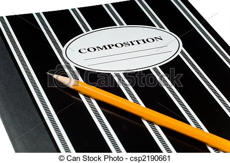 Stock Photography of Composition book.