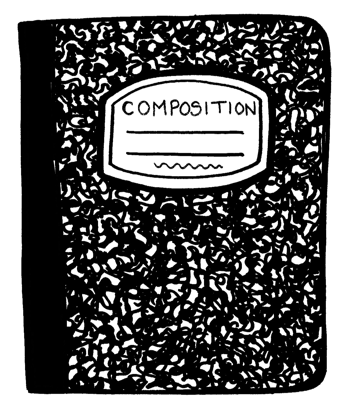 Composition journal clipart.