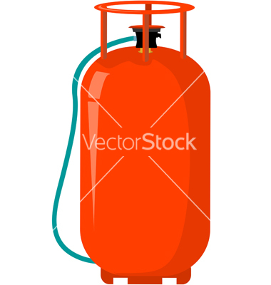 Gas cylinder vector by tillydesign.