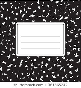 Composition book clipart 1 » Clipart Portal.