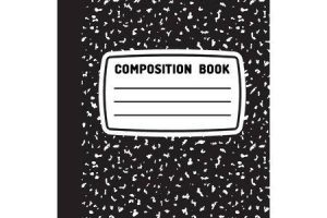 Composition book clipart » Clipart Portal.