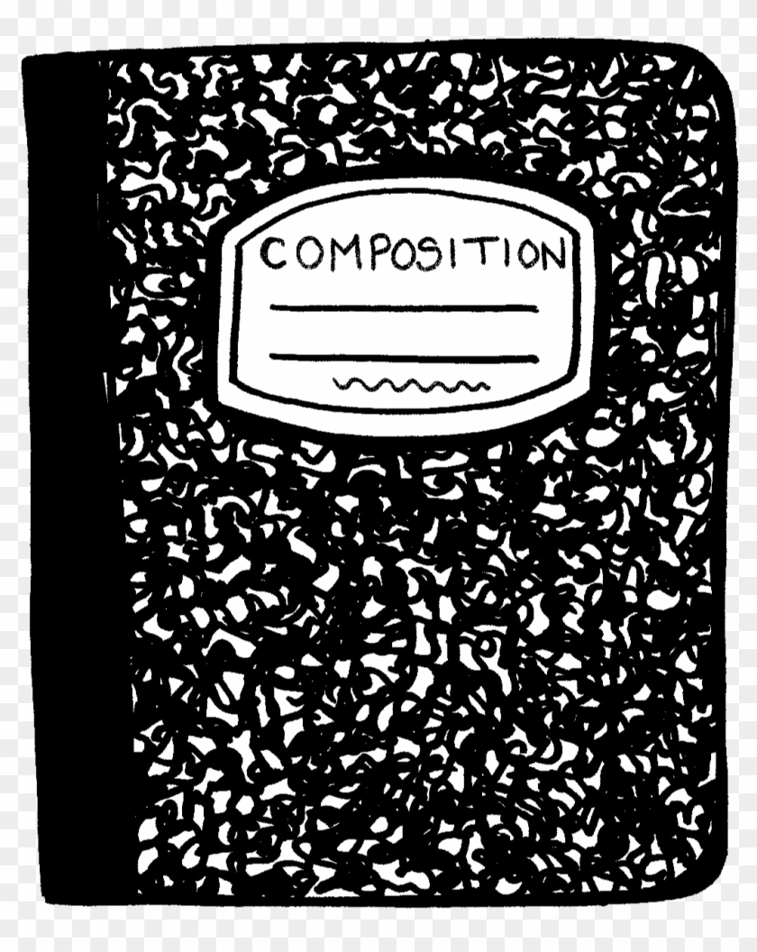 Clip Art Royalty Free Composition Notebook Clipart.