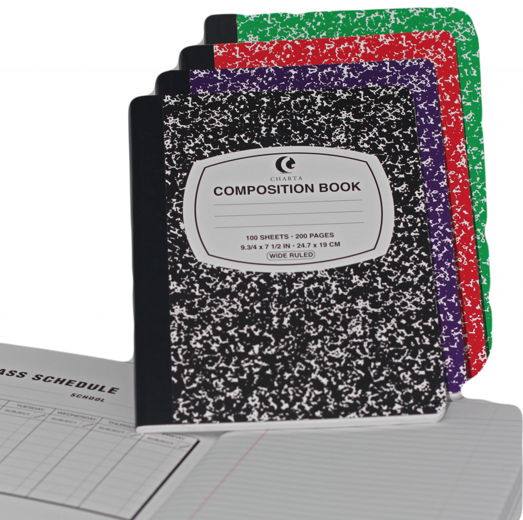 Charta Composition Books.