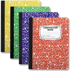Details about Bulk School Supplies Wholesale Case Pack of 48 Notebooks  Composition Book, Color.