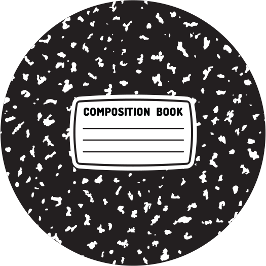 Composition Notebook.