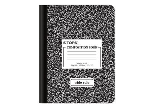 Composition Notebook Cover Png Clip Art #70819.