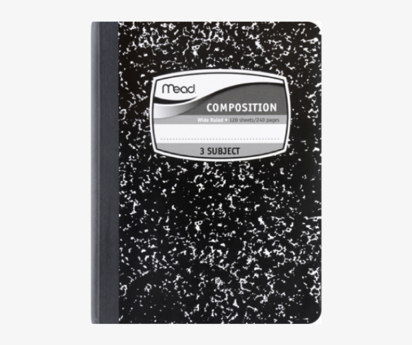Composition Notebook Cover Png.
