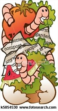 Worm Composting Clipart.