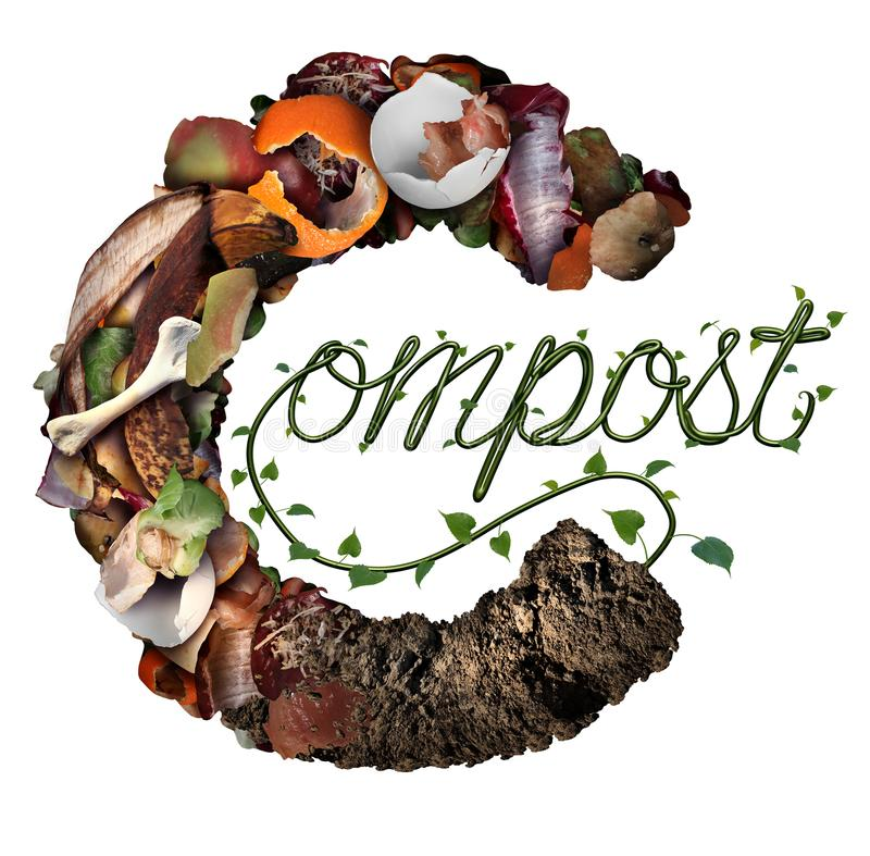 Composting Stock Illustrations.