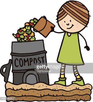 Composting premium clipart.