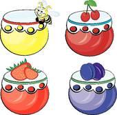 Jam Jar Clip Art.