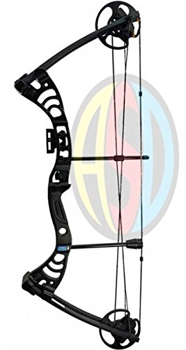 ASD Black Monster Compound Archery Bow Set 30.