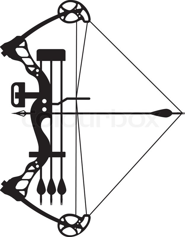 Compound bow clipart 8 » Clipart Station.