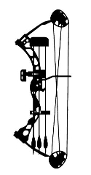 Compound Bow Decal Sticker.