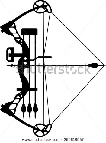 Archery Bow Stock Photos, Royalty.