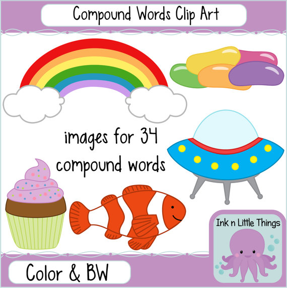 Items similar to Compound Word Clip Art.