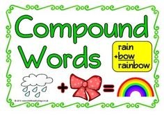 Compound words clipart.