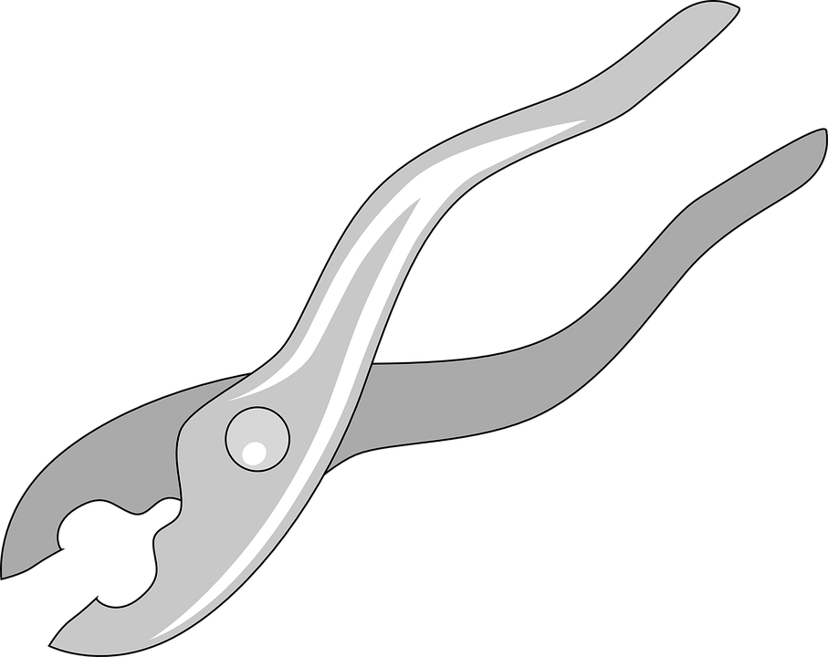 Free vector graphic: Pliers, Pair Of Pliers, Hand Tool.