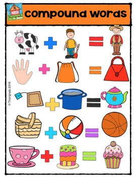 Compound Words {P4 Clips Trioriginals Digital Clip Art}.