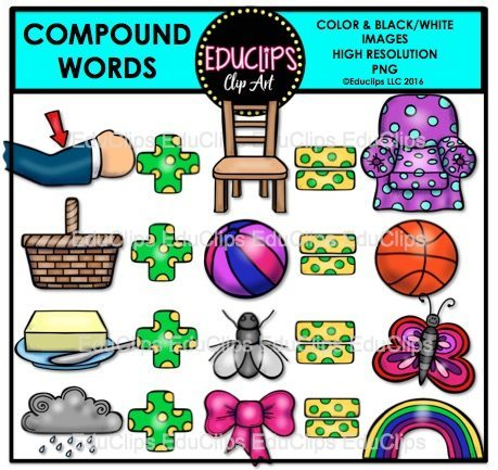 Compound words clipart 8 » Clipart Portal.