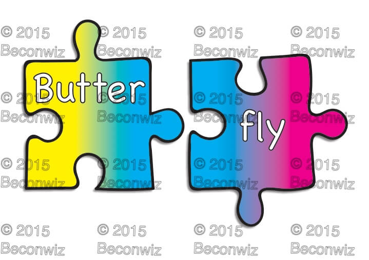 CLIP ART SPELLING & WORD FEATURES.