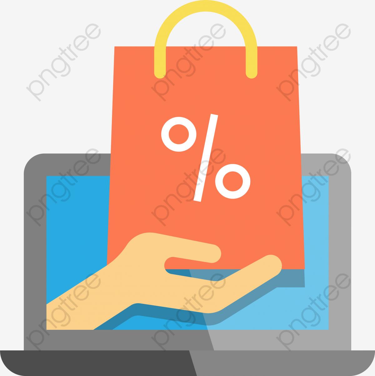 Icono De Compra Online, Online Shopping, Supermercado En Línea, E.