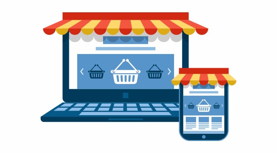 Online Shop Png.