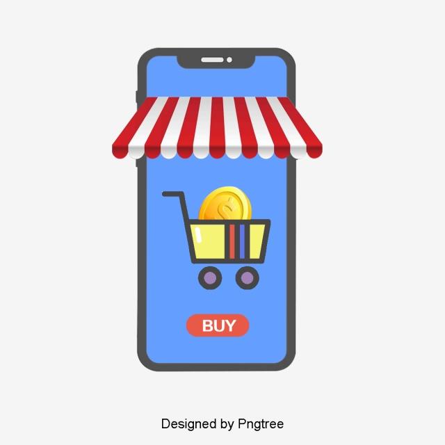 Creative Online Store, Tienda Web, Aplicacion De Telefono, Carrito.