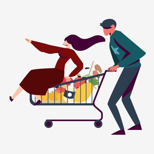 Carrito De Compras Carrito De Compras Shopping Supermercado Imagen.