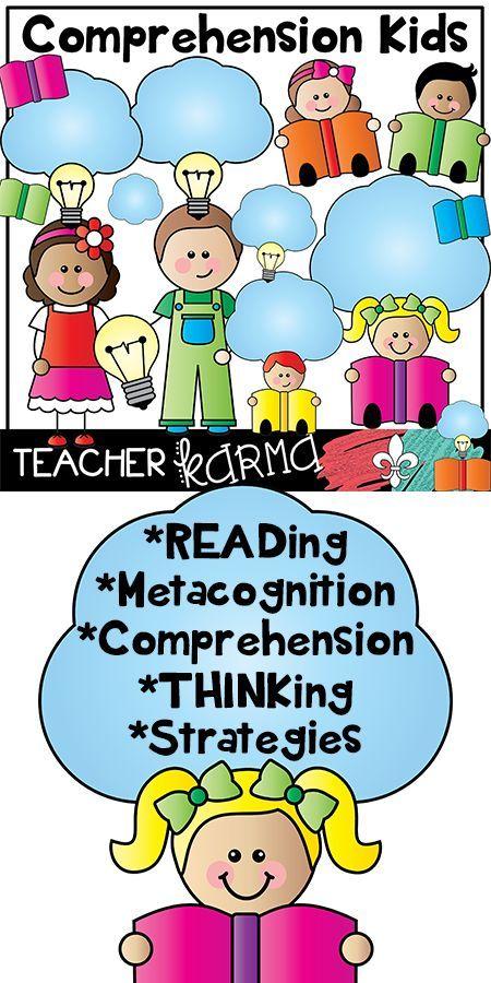 Comprehension Kids Clipart.