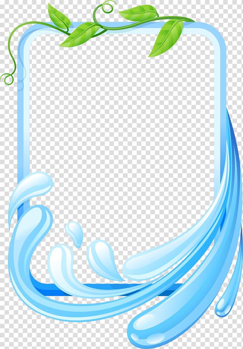 Rectangular blue frame illustration, Lossless compression.