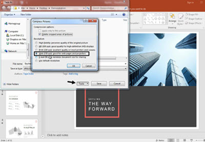 How to Save PowerPoint Slides as JPEG Images in 60 Seconds.