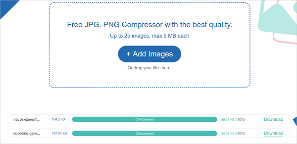 How to Compress JPEG to 100KB Online.