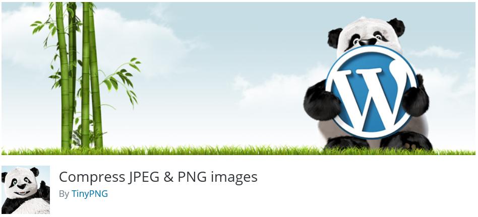 Free WordPress Plugin: Compress JPEG & PNG images.
