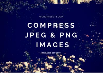Compress .jpeg .png Images.