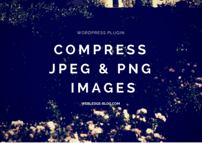 Compress .jpeg .png Images.