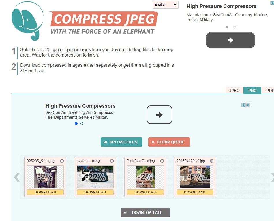 5 Best Online Image Compress Tools for Website Speed Optimization.